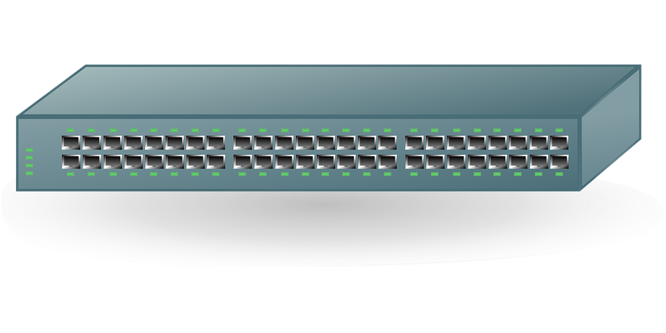 Switch Router Rj45 - Free vector graphic on Pixabay