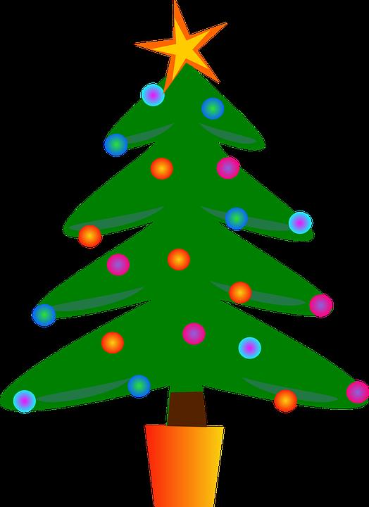 Image vectorielle gratuite arbre de no l sapin no l festive image gratuite sur pixabay - Dessin sapin vert ...