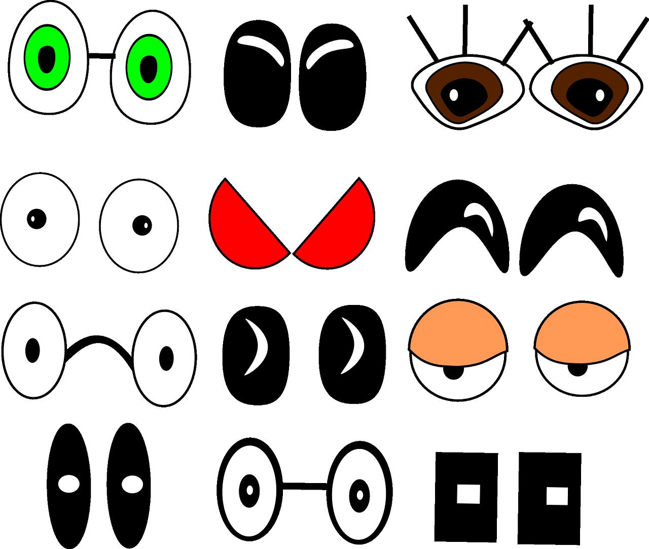 Глаза смешные картинки