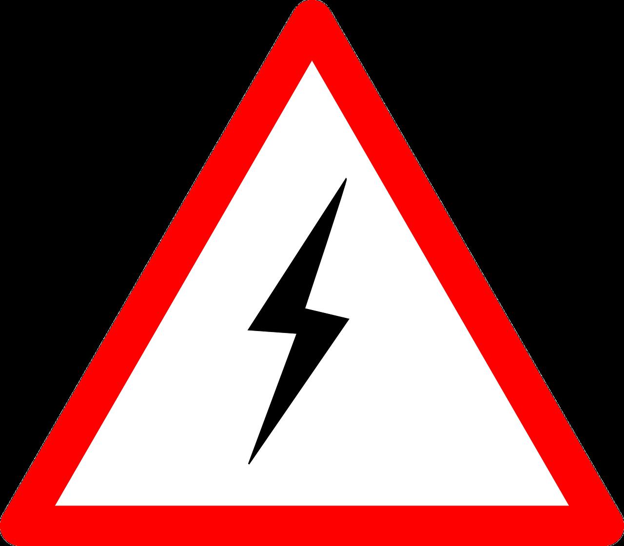 Знаки картинки про электричество