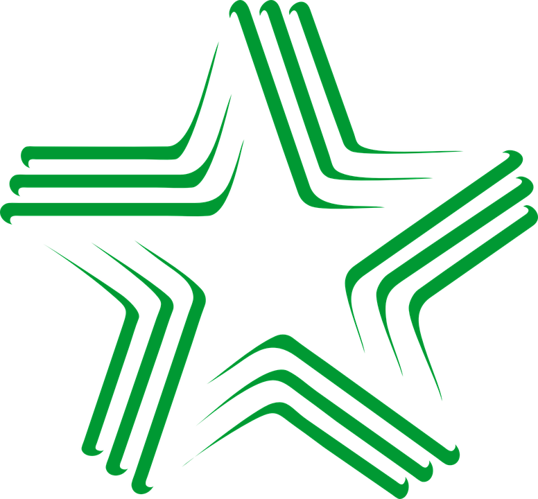 Esperanto Logo Bintang Gambar Vektor Gratis Pixabay Bahasa Internasional