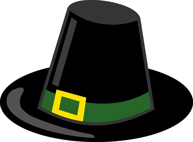 peregrino sombrero negro acci u00f3n de  u00b7 gr u00e1ficos vectoriales pilgrim's hat clip art pilgrim hat clip art without background
