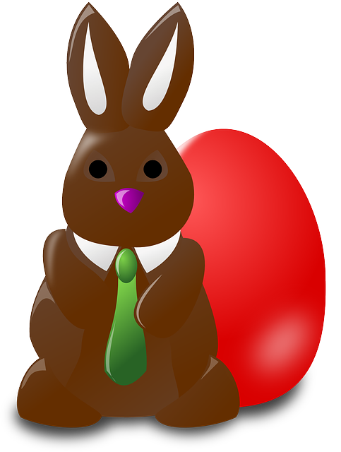 Easter Bunny With Eggs Clipart Easter Bunny Ra...
