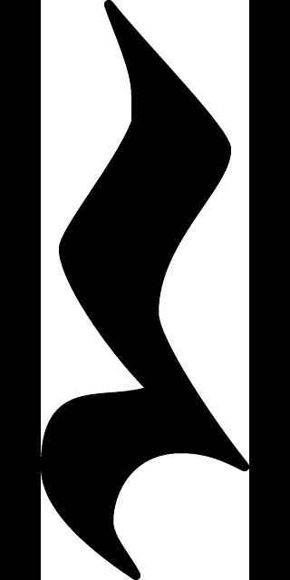 Free vector graphic: Note, Music, Quarter, Quaver, Rest - Free ...