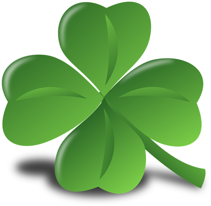 Four Leaf Clover Luck Lucky Shamrock