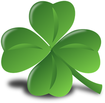 Four-Leaf Clover, Clover, Luck, Lucky