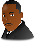 martin luther king, negro
