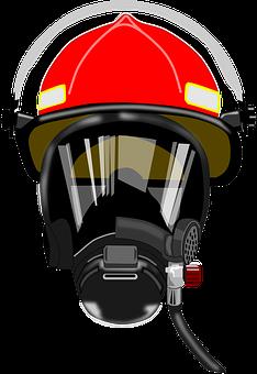 Reniflard, Défense, Pompier, Casque