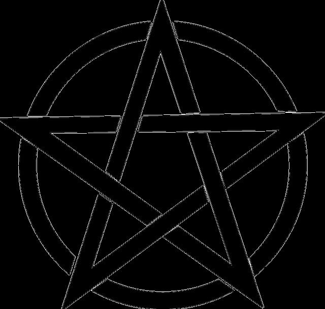 Pentagram Black Magic Free Vector Graphic On Pixabay