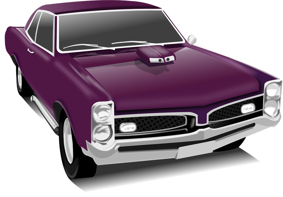 classic car car vintage purple