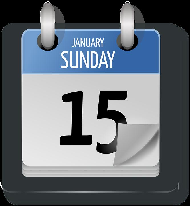 Calendar Day Vector Art : Calendar date sunday · free vector graphic on pixabay