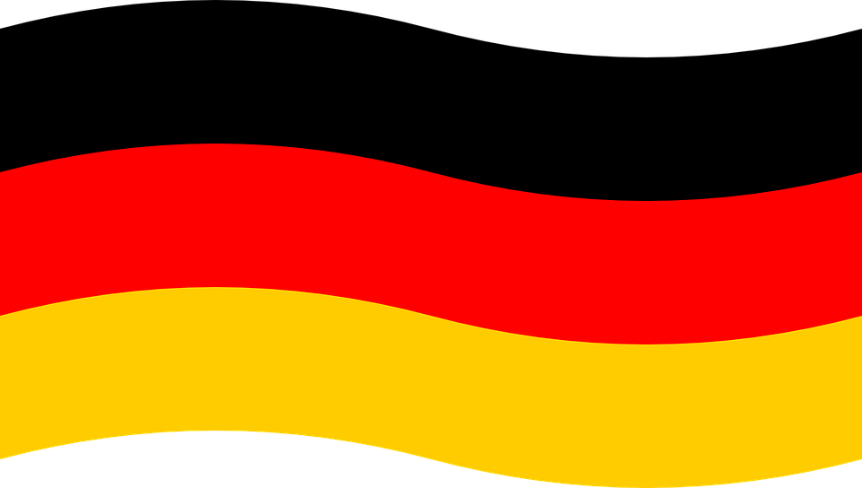 deutschland flagge deutsch kostenlose vektorgrafik auf pixabay. Black Bedroom Furniture Sets. Home Design Ideas