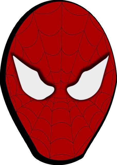 Spiderman masque dessin anim images vectorielles - Dessin anime spider man ...