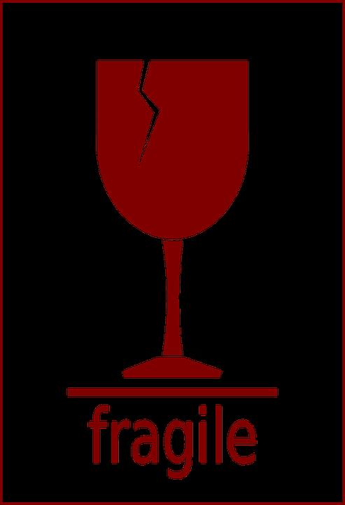 fragile glass broken 183 free vector graphic on pixabay