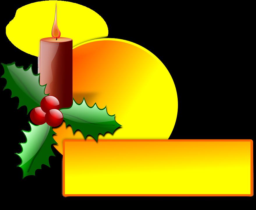 Natal Holly Dekorasi Gambar Vektor Gratis Di Pixabay