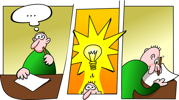 Idea, Invention, Inventor, Thinking