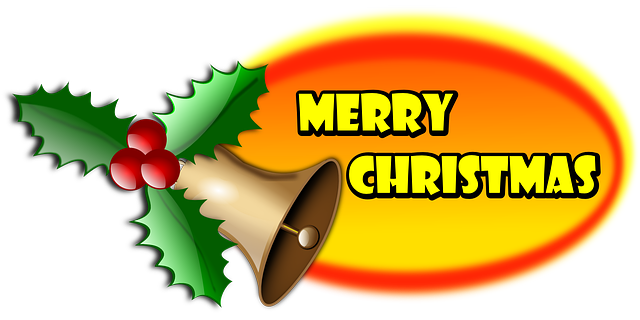 Merry Christmas Holly 183 Free Vector Graphic On Pixabay