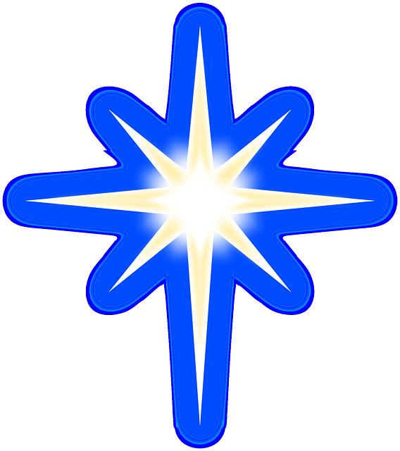 Adorno Estrellas Brillo · Gráficos vectoriales gratis en