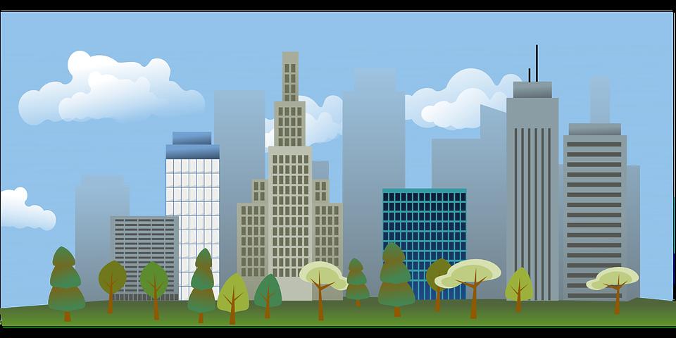 Free vector graphic: Skyscraper, Building, City, Skyline ...