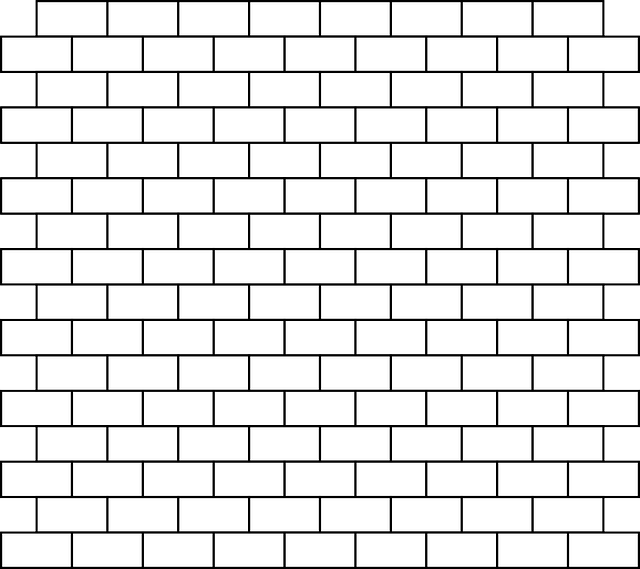 Brick Wall Bricks White Free Vector Graphic On Pixabay
