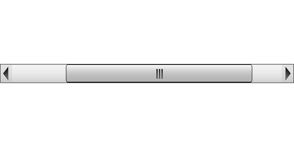 Scroll Bar Left Free Vector Graphic On Pixabay
