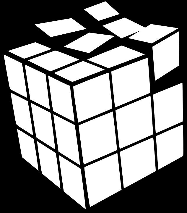 ルービック キューブ ゲーム Pixabayの無料ベクター素材