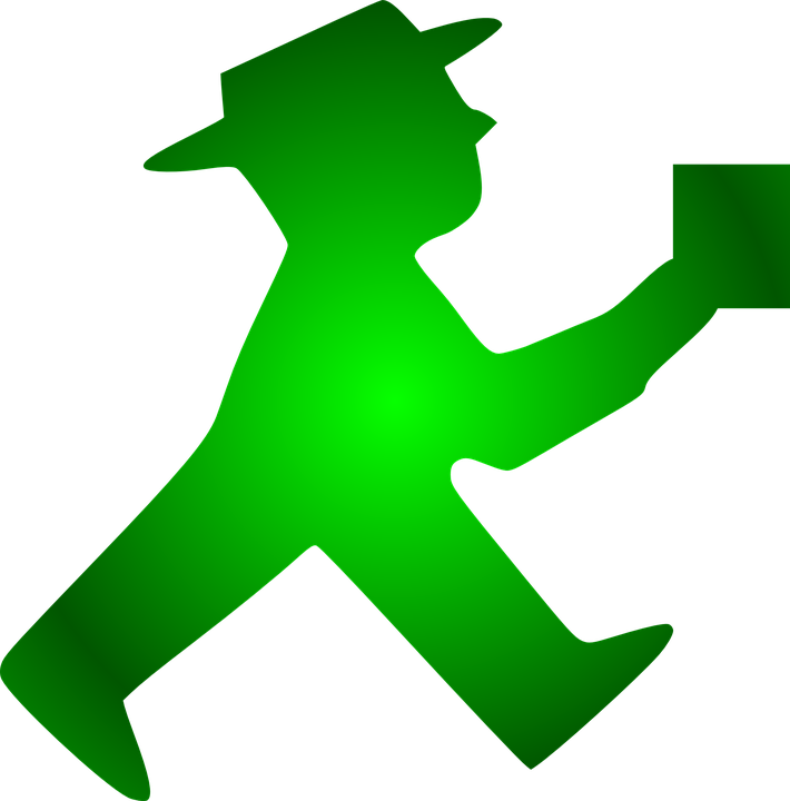 Free Vector Graphic Irish Man Walking Beer Mug Hat