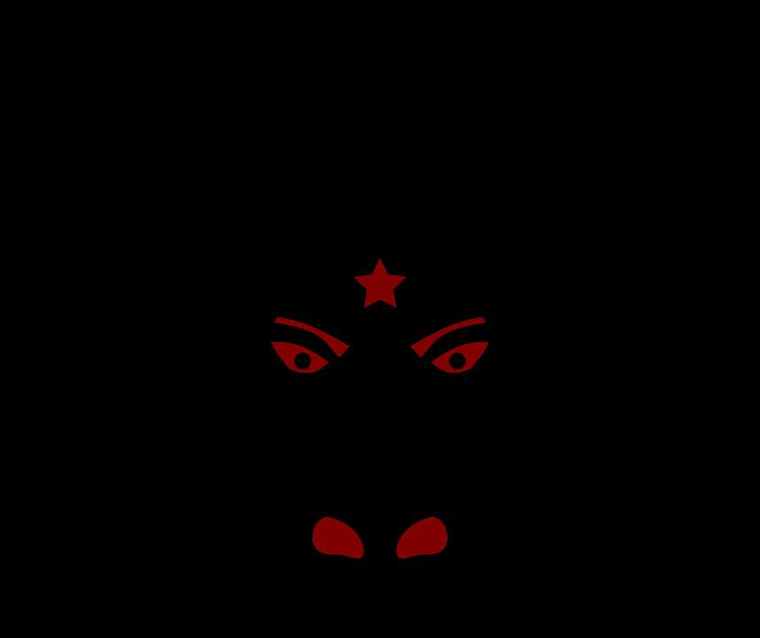 The Devil S Music De Maskers: Minion Devil Head · Free Vector Graphic On Pixabay