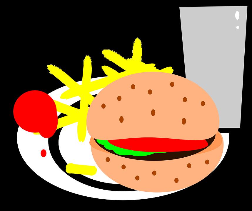 Makanan Cepat Saji Kentang Goreng Gambar Vektor Gratis Di Pixabay