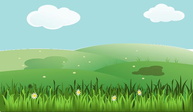 Imagem vetorial gratis paisagem primavera ver o campos for Plante 3d gratuit
