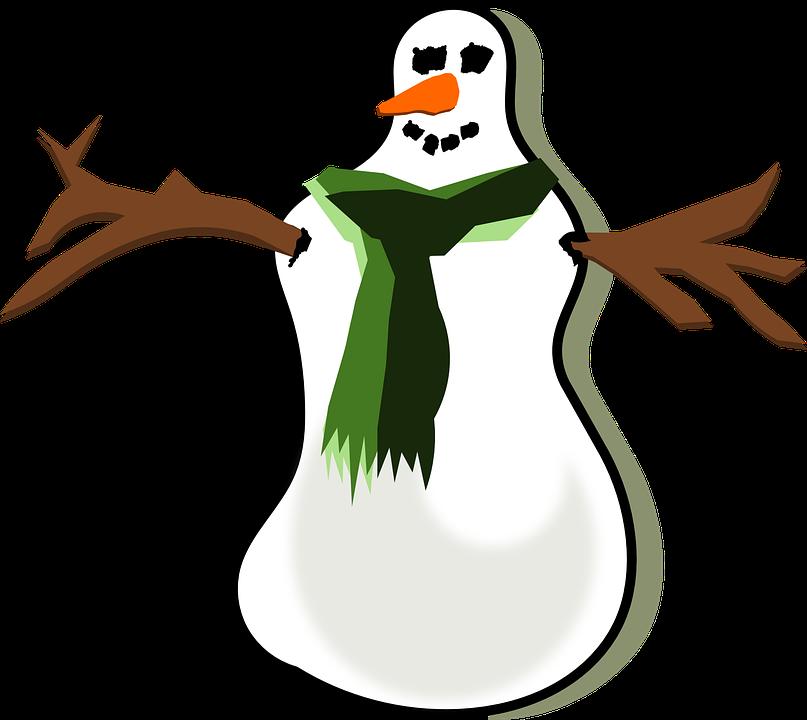 Schneemann Weihnachten Winter · Kostenlose Vektorgrafik auf Pixabay