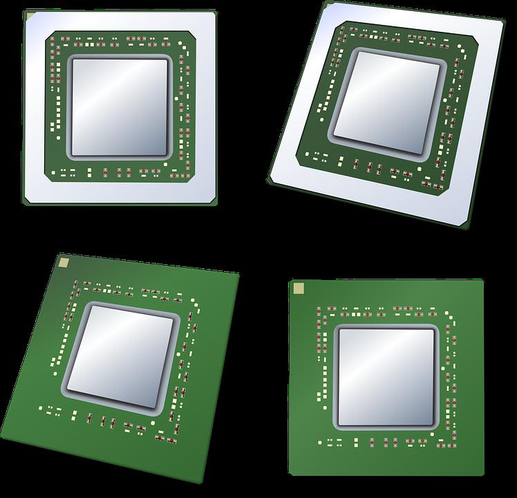 Microprocessor, Processor, Cpu, Chip