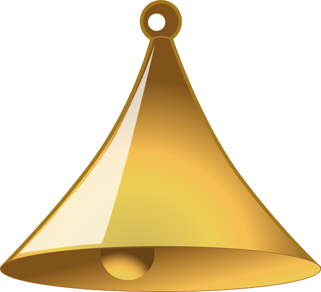 Bell Golden Ringing - Free vector graphic on Pixabay