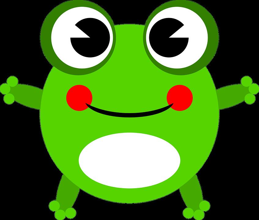 Frog Amphibian Animal · Free vector graphic on Pixabay