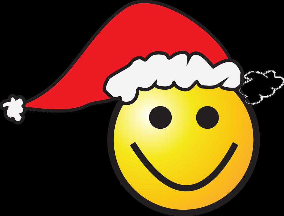 Weihnachten Smiley Hut Santa · Kostenlose Vektorgrafik auf Pixabay