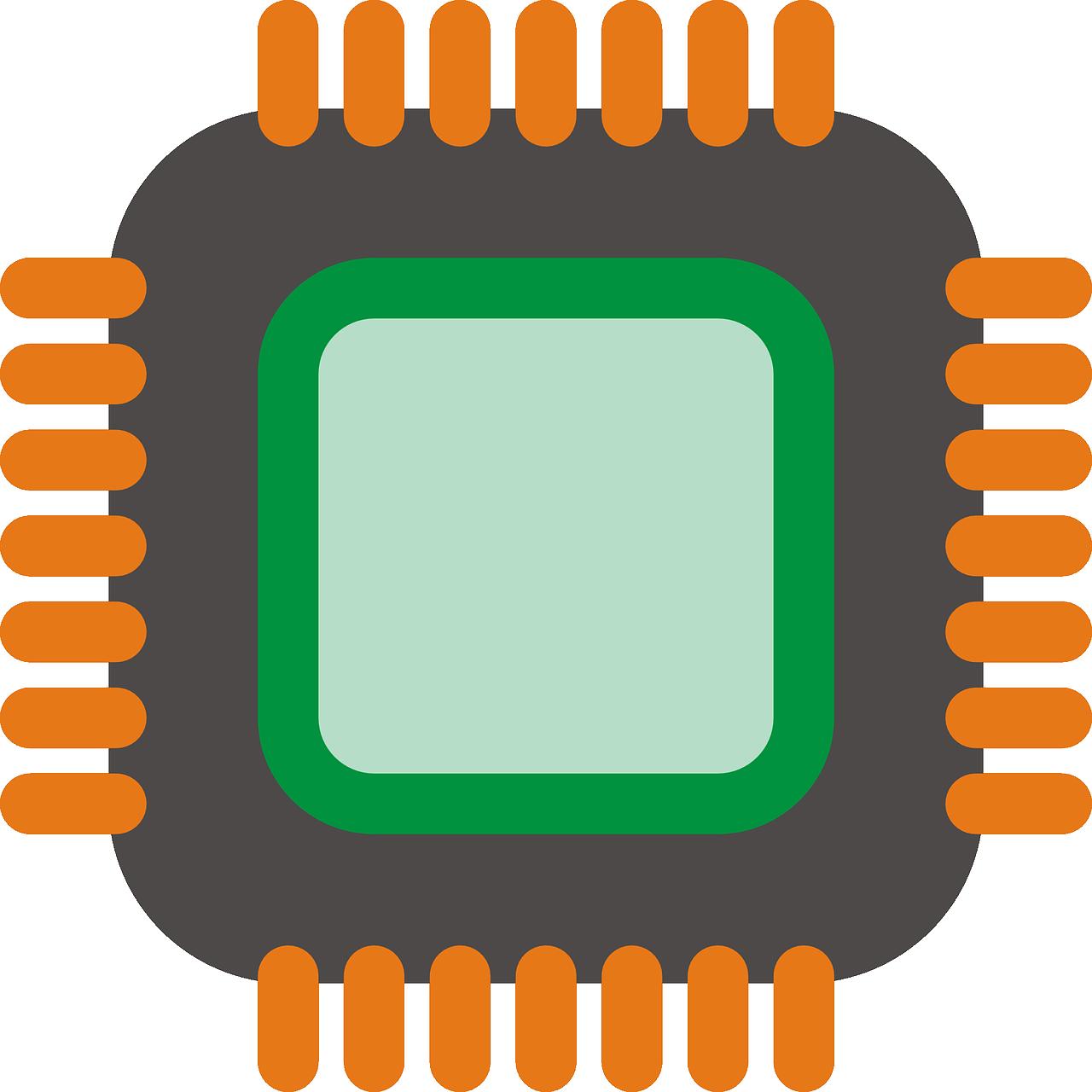 Процессор нарисованный