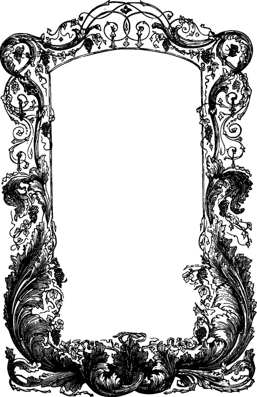Bingkai Tanaman Merambat Gambar Vektor Gratis Di Pixabay
