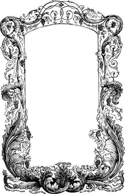 free vector graphic frame vines ornate free image on