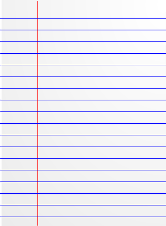 Document Page Text Paper Empty Blank Lines