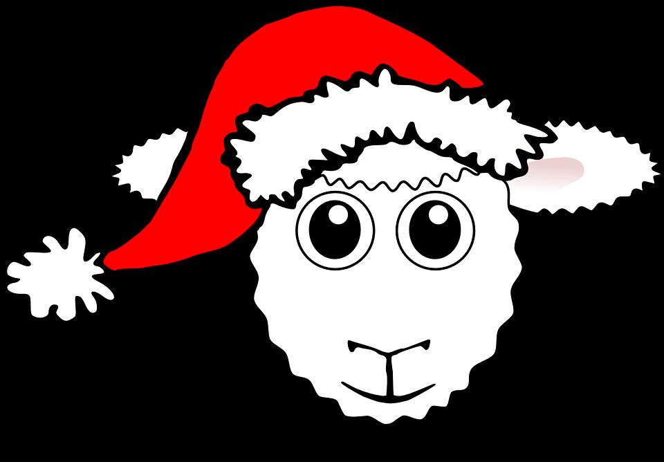 Schafe Glücklich Tier · Kostenlose Vektorgrafik auf Pixabay