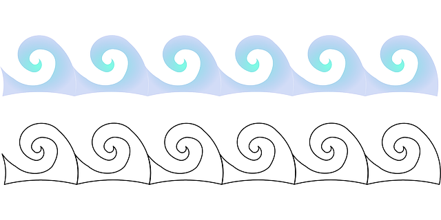 Free Vector Graphic Waves Surf Beach Sea Water