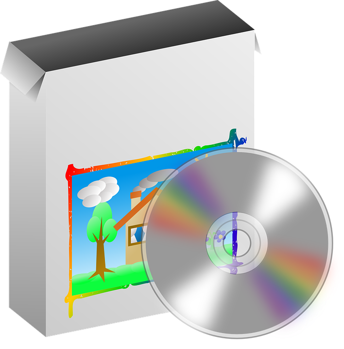 box disc program free vector graphic on pixabay rh pixabay com clip art programs free clip art programs for windows