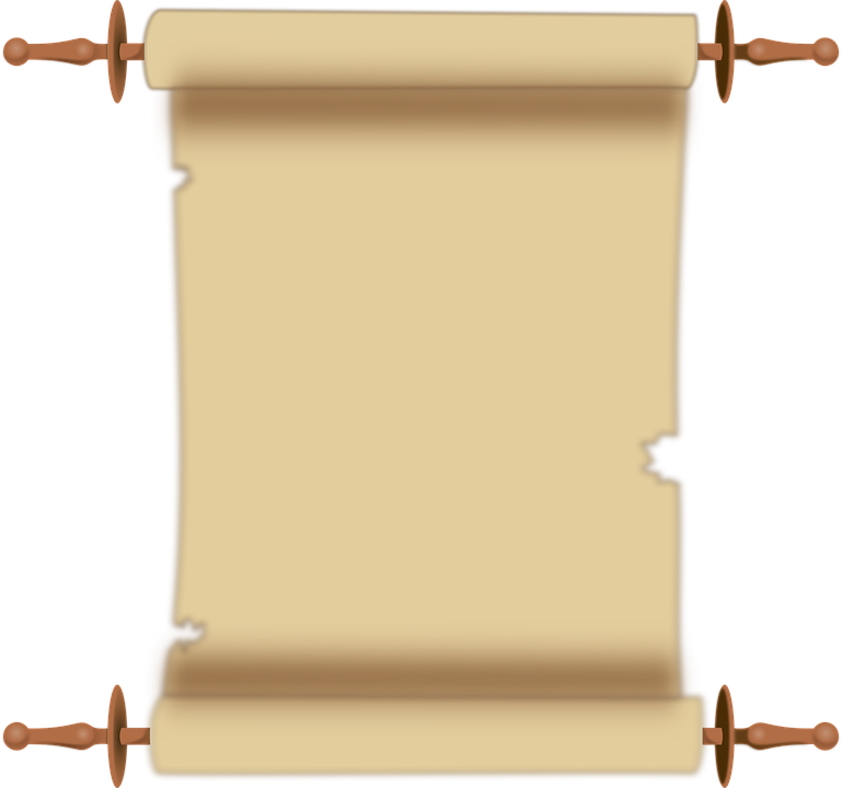 free vector graphic: scroll, parchment, document - free image on, Powerpoint templates