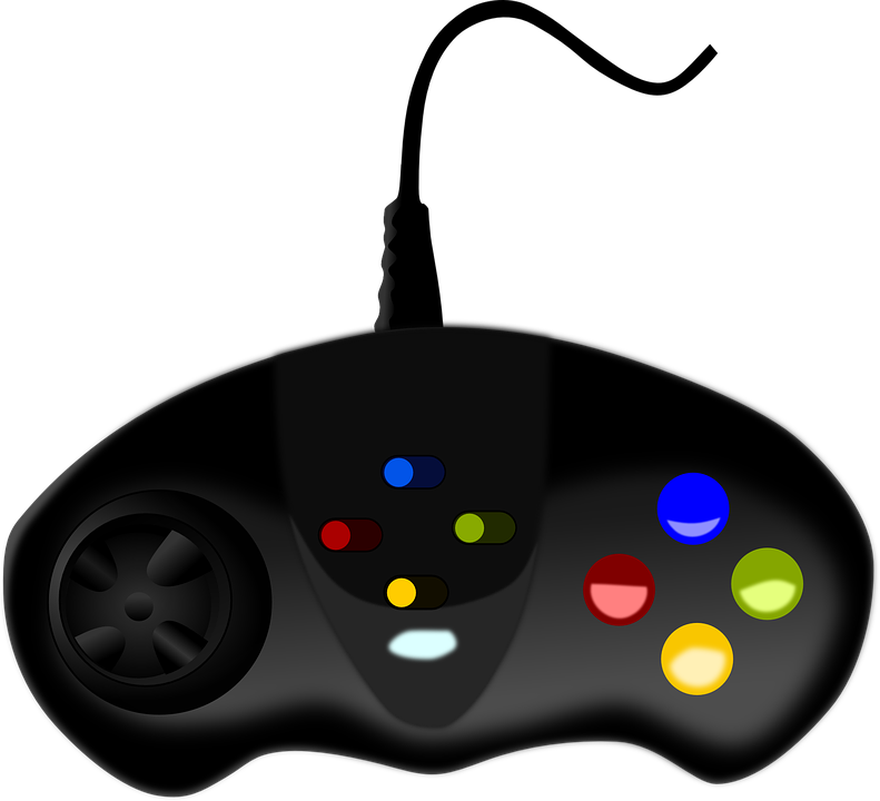 Video Game Controller Free Vector Graphic On Pixabay
