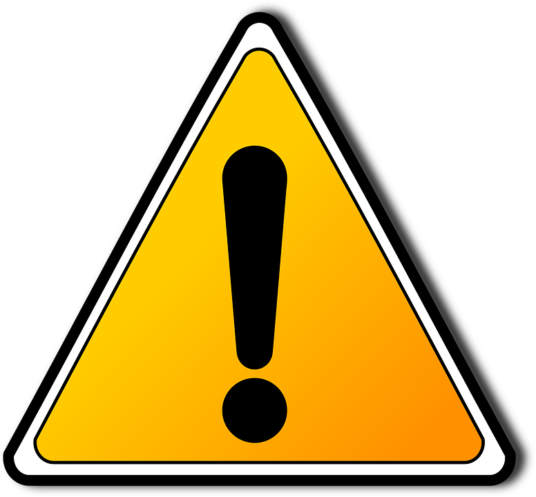 Caution Hazard Warning Free Vector Graphic On Pixabay