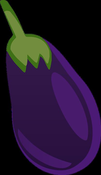 Free Vector Graphic Eggplant Vegetable Food Free
