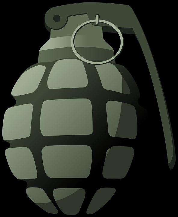 hand grenade explosive free vector graphic on pixabay rh pixabay com grenade vector free grenade vector download