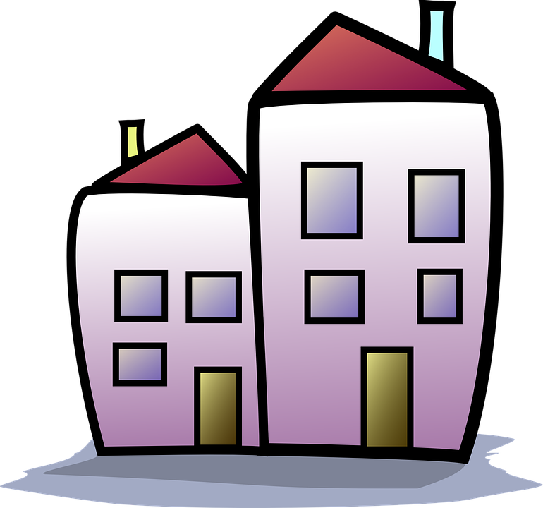 Apartment Building Graphic free vector graphic: apartment building, house - free image on