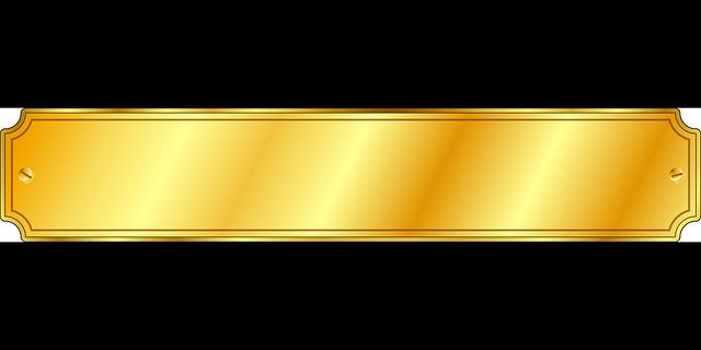 Imagem vetorial gratis r tulo ouro parafusos imagem for Set de table plastique transparent