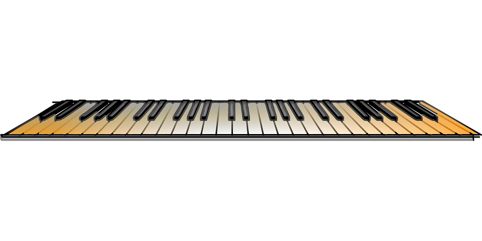 Keyboard Music Piano · Free vector graphic on Pixabay